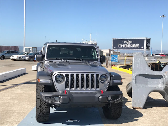 2020 Jeep Gladiator at USS Hornet Sea, Air and Space Museum, Alameda, California