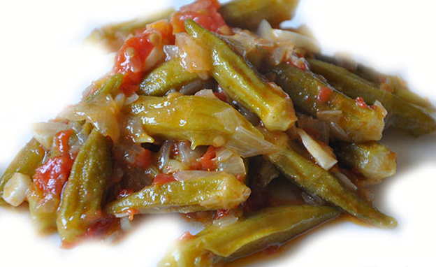 Okra with Olive Oil