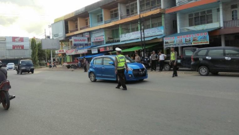 Di Bulan Suci Ramadhan, Polres Sanggau Lakukan Pengamanan