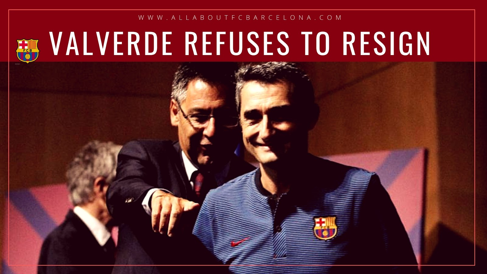 Money Money!! Valverde Refuses to Leave Despite the Absolute Humiliation!