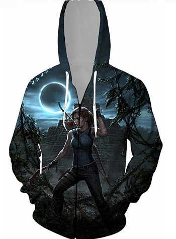 Great Amazon offers:Popular Tombraider Hoodies for Christmas