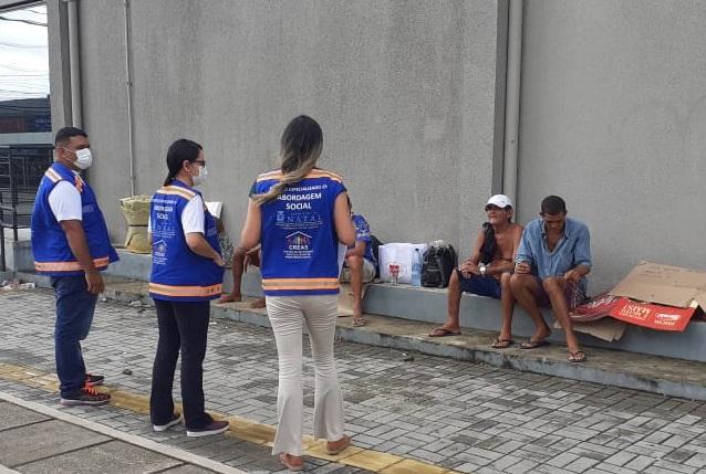 População de rua conta com forte apoio da Prefeitura durante a  pandemia