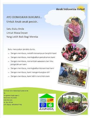 Reklame Kegiatan Donasi Buku www.simplenews.me