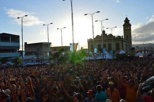 ROMARIA: Blog Coisa Nossa irá transmitir AO VIVO Celebrações e Momentos de Evangelização da Romaria do Frei Damião.