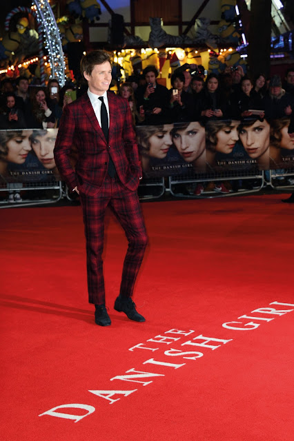 Eddie Redmayne Red Carpet