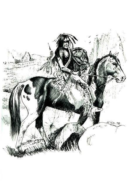 Desenhos Do Gremio E Outros Indio Americano
