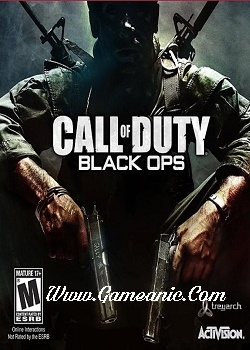 Call Of Duty Black Ops 1 Game Cover