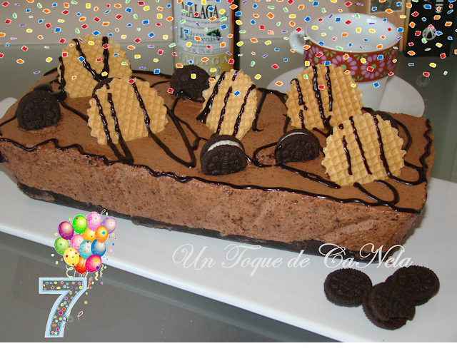 Tarta Mousse De Chocolate Y Galletas Oreo