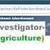 Investigator: 62 posts -(RSMSSB) Feb-2019