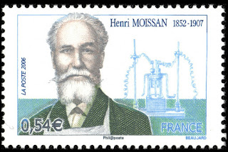 France 2006 - Henri Moissan - Nobel Prize Winner in Chemistry