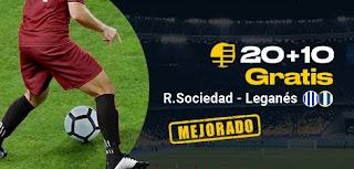 bwin promocion Real Sociedad vs Leganes 8-11-2019