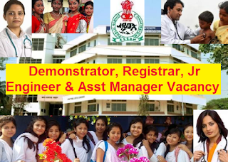 Recruitment of Registrar & Others in APSC 2016