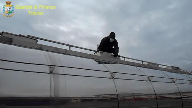 """GdF: Operazione """"Giallo Oro"""", gasolio senza accise immesso in consumo in diverse province [VIDEO]"""