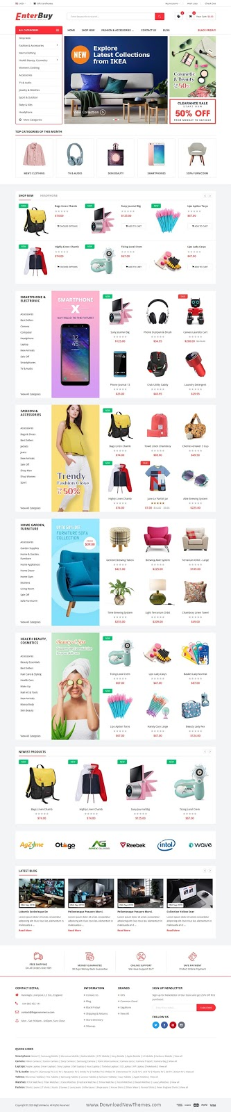 Premium Responsive BigCommerce Theme