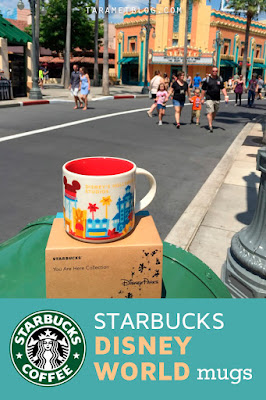 "Guide to Starbucks ""You are Here"" Exclusive Disney Parks Mugs"
