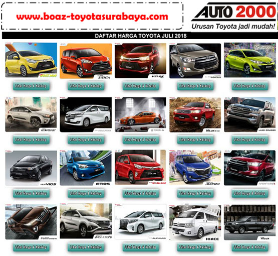 Daftar Harga Toyota Surabaya Mei 2020 Auto 2000 Toyota Kertajaya Hub Boaz 081335110223 Harga Mobil Toyota Auto 2000 Kertajaya Surabaya Boaz Toyota