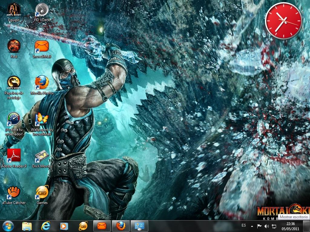 Tema Windows 7 Mortal Kombat 9 Temas Windows 7 Xp Y
