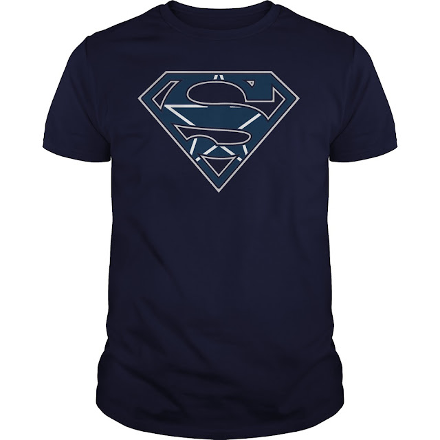 Dallas Cowboys Superman Logo Shirt