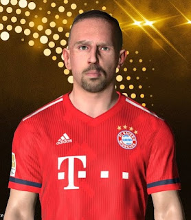 PES 2017 Faces Franck Ribery by Facemaker Ahmed El Shenawy