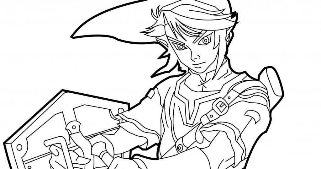 Zelda Disegno Da Colorare N1