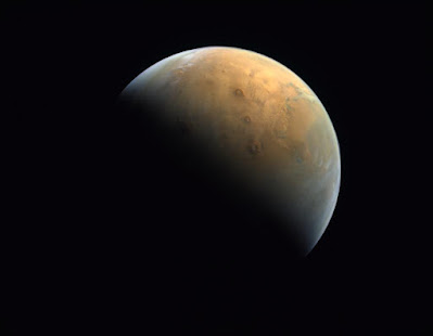 Mars from Al Amal probe