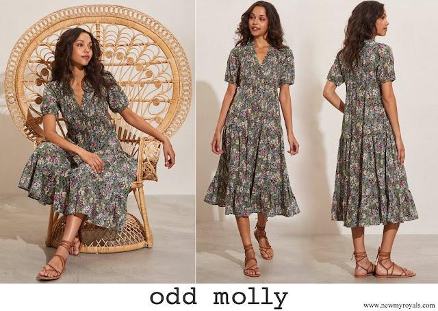 Princess Sofia wore Odd Molly Reese dress