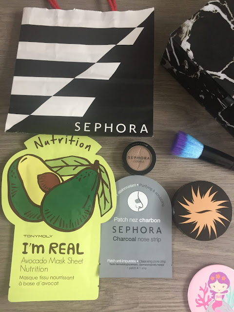 My first ever Sephora haul