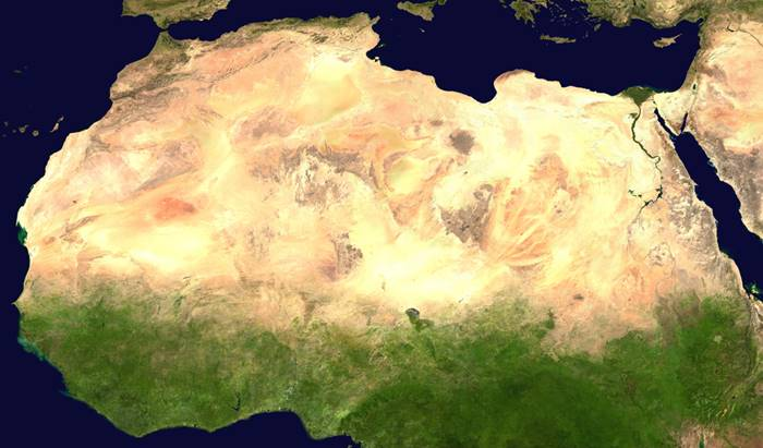 How Sahara look like 5,000 years ago