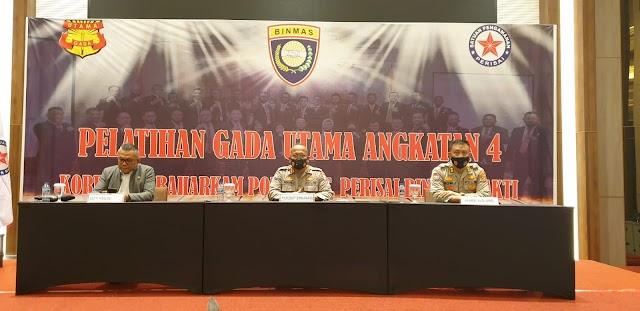 Diklat Gadut angkatan IV di Palembang Emban Fungsi Kepolisian Terbatas