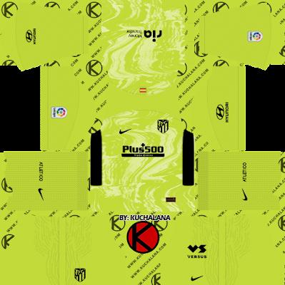 Atletico Madrid 2020-21 Nike Kit - DLS2019
