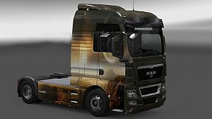 Fantastic skin for MAN TGX