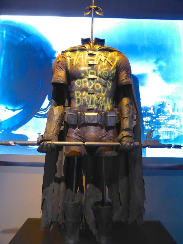Batman v Superman Graffitied Robin costume