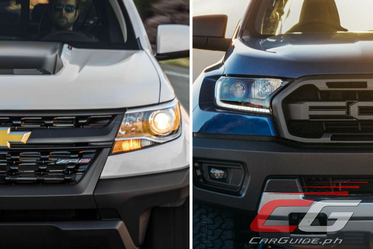 2018 Ford Ranger Raptor vs 2018 Chevrolet Colorado ZR2 Diesel: Tale of the Tape | Philippine Car ...