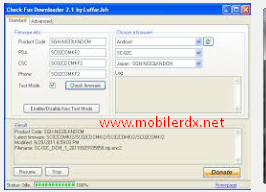 Samsung Mobile Firmware Downloader Tool (Samfirm) Free Download