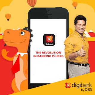DBS or digi bank customer care number