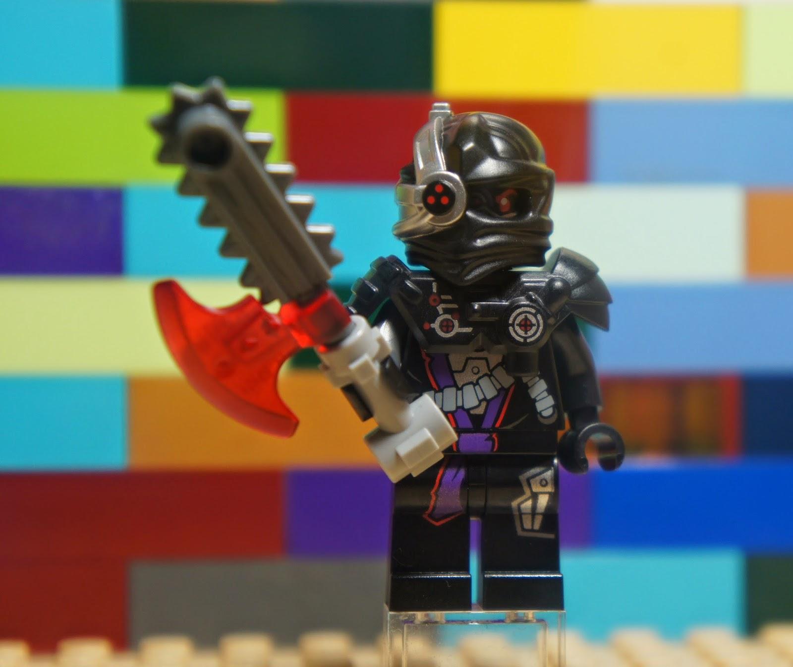 Lego Njo092 Ninjago General Cryptor Nindroid Minifigure W Weapon