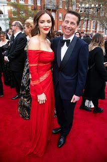Katharine McPhee at The Olivier Awards 2019