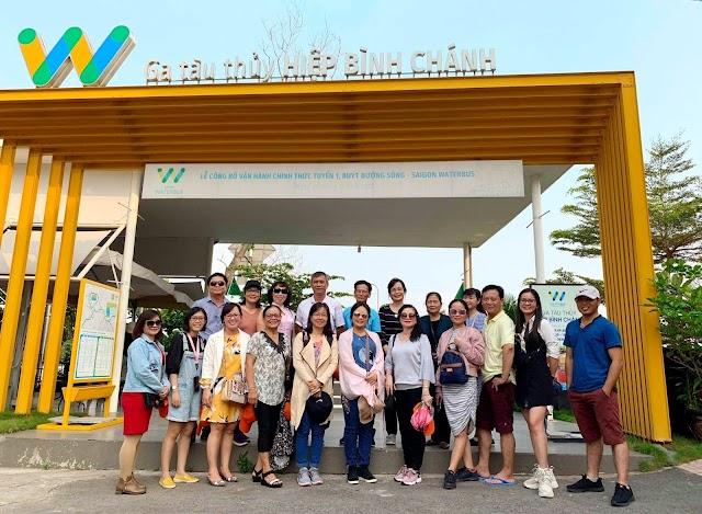 Du lịch Nhật Bản - Khám phá water bus trên sông Sài Gòn