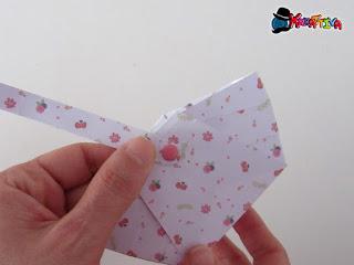 cestino pasquale di carta