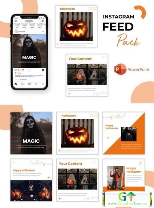 Instagram Feed - Magic Halloween[Photoshop][6042318]