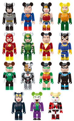 HappyKuji Exclusive DC Comics Be@rbrick Series by Medicom Toy