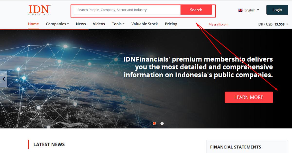 Cara Download Laporan Keuangan Lama Di Idx Dan Idn Financial Terbaru Mas Raffi
