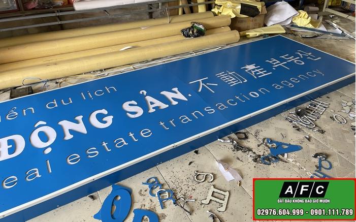 Thi công biển quảng cáo Bất Động Sản tại Phú Quốc