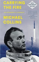 Carrying the Fire by Michael Collins (Book cover)