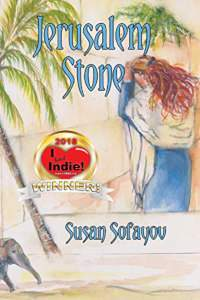 Jerusalem Stone -  book promotion by Susan Sofayov