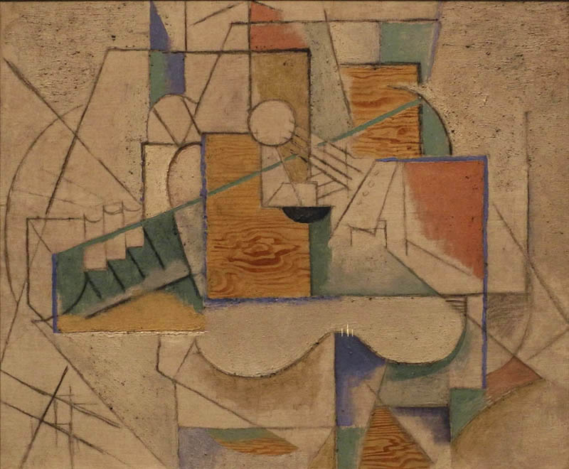 the inception and development of picasso and braques new painting style cubism After this period comes the cubism period that starts with the analytic cubism it started in the year 1909 and it lasted until the year 1912, is a style of painting picasso started developing it along with georges braque using monochrome brownish and neutral colors.