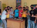 Polres Samosir Tangkap Pelaku Narkoba, Sita 5 Paket Sabu