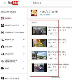 Cara Menambahkan Musik pada Video di Youtube