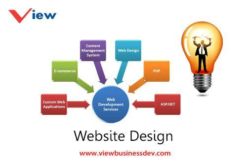 خدمات تصميم المواقع