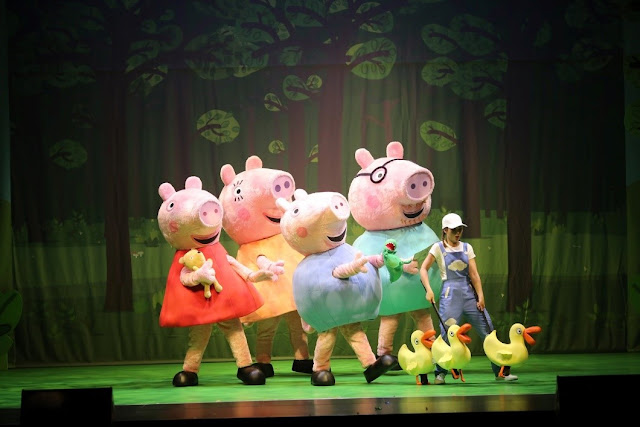 Peppa Pig Live at the Theater Solaire